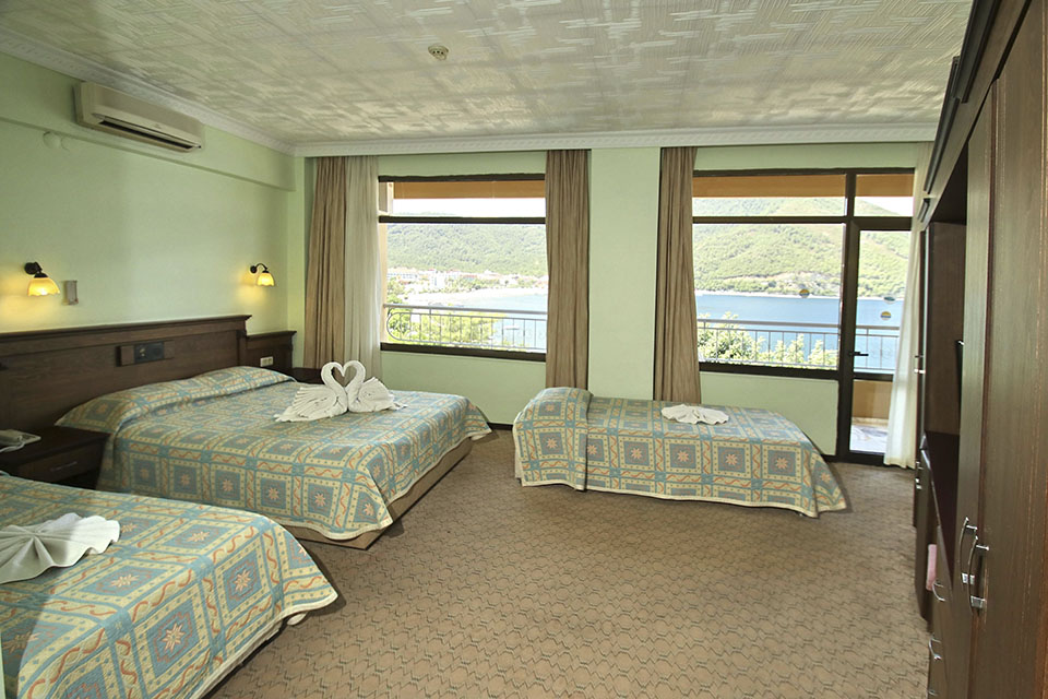 Family rooms marmaris hotels